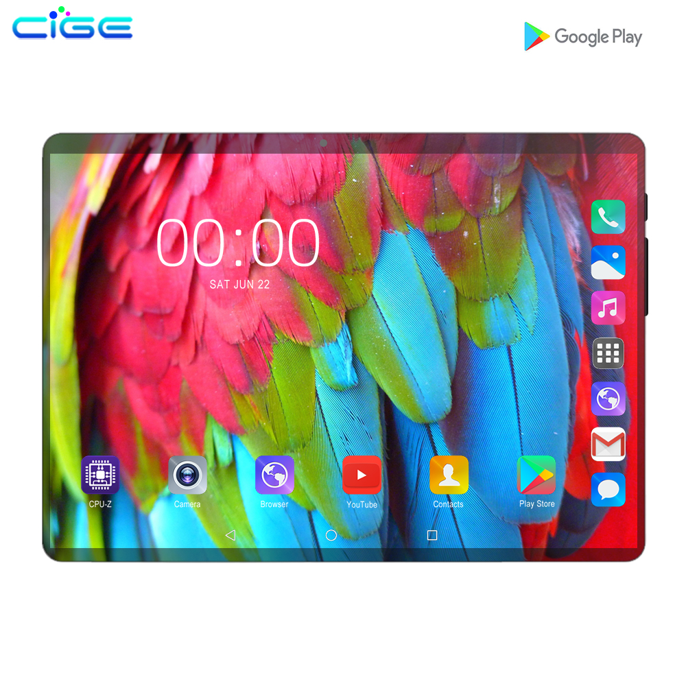 Mx960 10.1 Inch Tablet Pc Android 9.0 3G 4G Lte Phone Call Tablets 6GB Ram 128GB Rom Octa Core Phablet 10