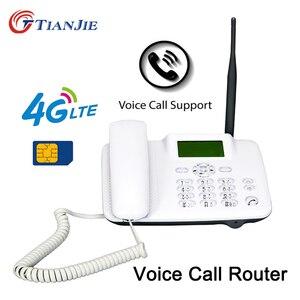 TianJie 4G 3G GSM połączenie głosowe VoLTE Router bezprzewodowy stałe telefon stacjonarny Router mobilny punkt aktywny Modem Wifi z portem LAN