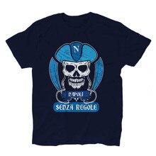 Camiseta maglietta calcio pirata tifosi napoli ultras 1 kiarenzafd streetwear camiseta retro
