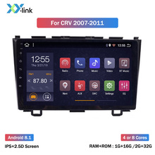 Android 8.1 car dvd multimedia player For Honda CRV CR-V 3 2007-2011 GPS navigation car radio video audio accessory no 2 din dvr android 8 1 9 7 ips dsp car gps multimedia navigation radio video audio player system for honda cr v crv 2012 2016 no car dvd