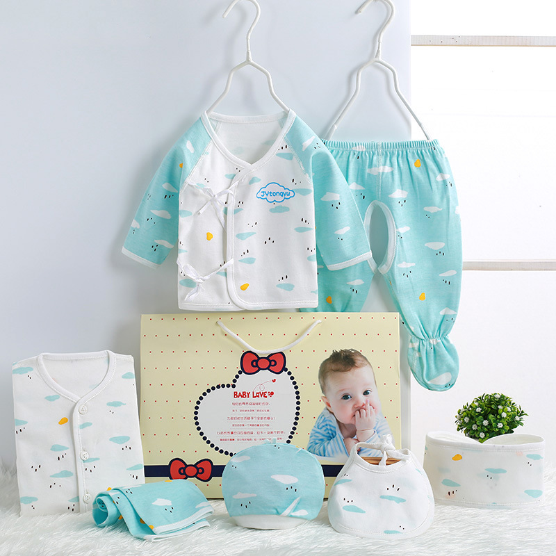Clothes For Babies Pure Cotton Newborns Underwear Gift Set Summer Newborn Baby BABY'S FIRST Month Maternal And Child Supplies