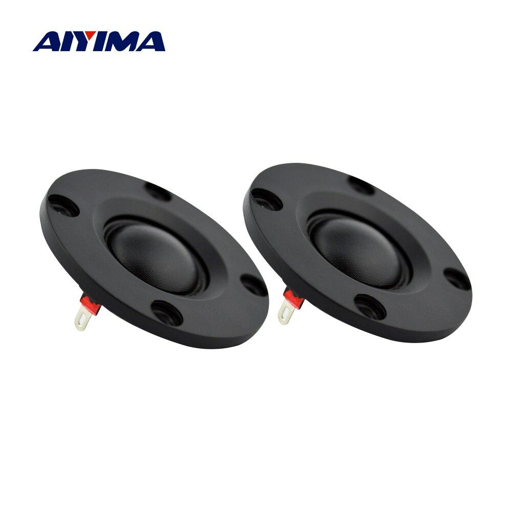 AIYIMA 2Pcs 2 Zoll Hochtöner 6 Ohm 12W Dome Seide Film Höhen Lautsprecher 20 Core Audio Lautsprecher DIY mini Bluetooth Lautsprecher