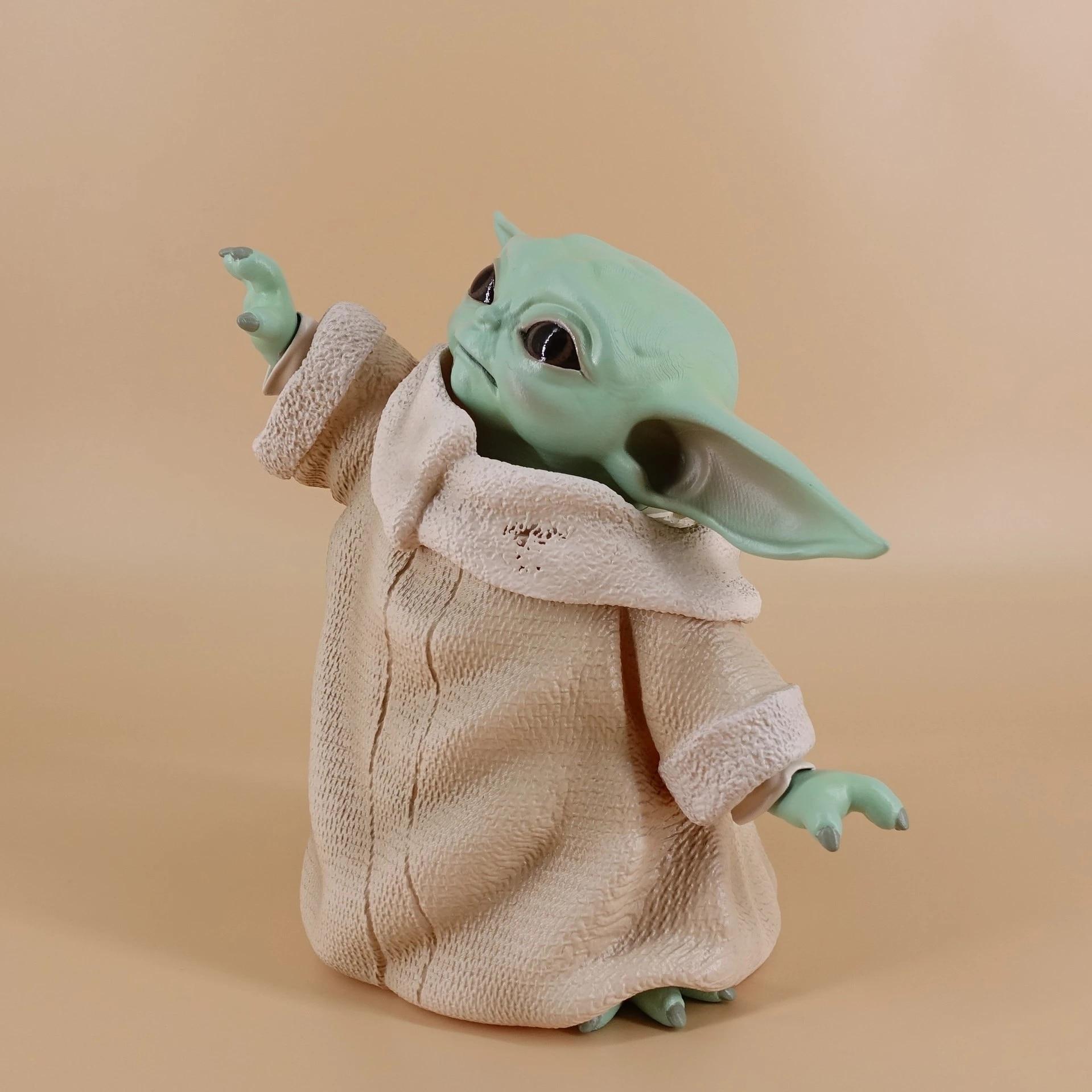 Star Wars baby yoda Static stance wave Mandalorian baby yoda Toy Figures Model