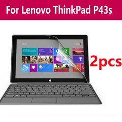 2 paczka jasne/Notebook ekran laptopa Protector folia elastyczna na 11/17 r. 3 Cal Hd naklejki dla Lenovo Thinkpad P43s -