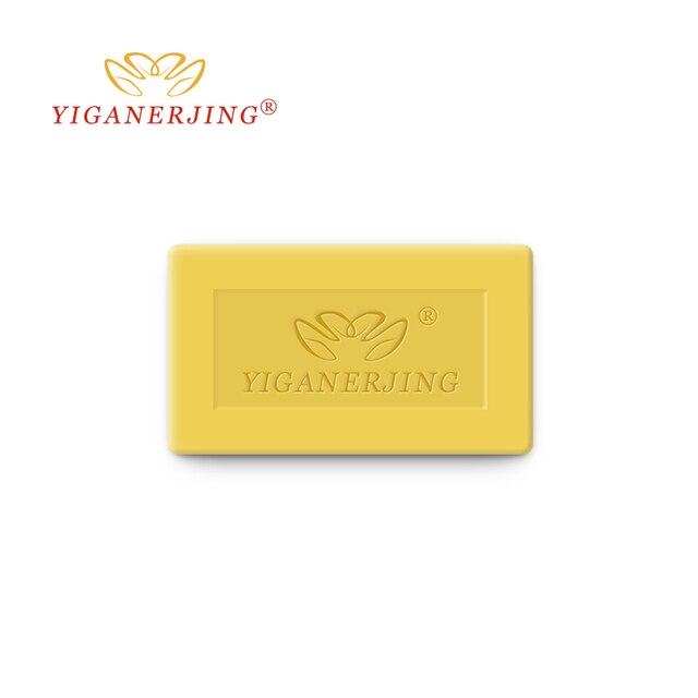10PCS YIGANERJING Sulfur Soap Skin Conditions Acne Psoriasis Seborrhea Eczema Anti Fungus Bath whitening soap Psoriasis Cream 1