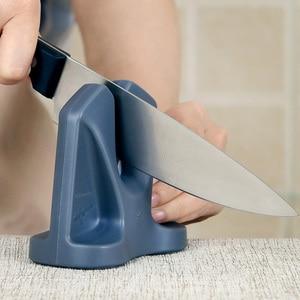 Image 4 - RISAMSHA kuchnia ostrzałka do ostrzenia noży System akcesoria kuchenne nożycowy profesjonalny nóż do ostrzenia