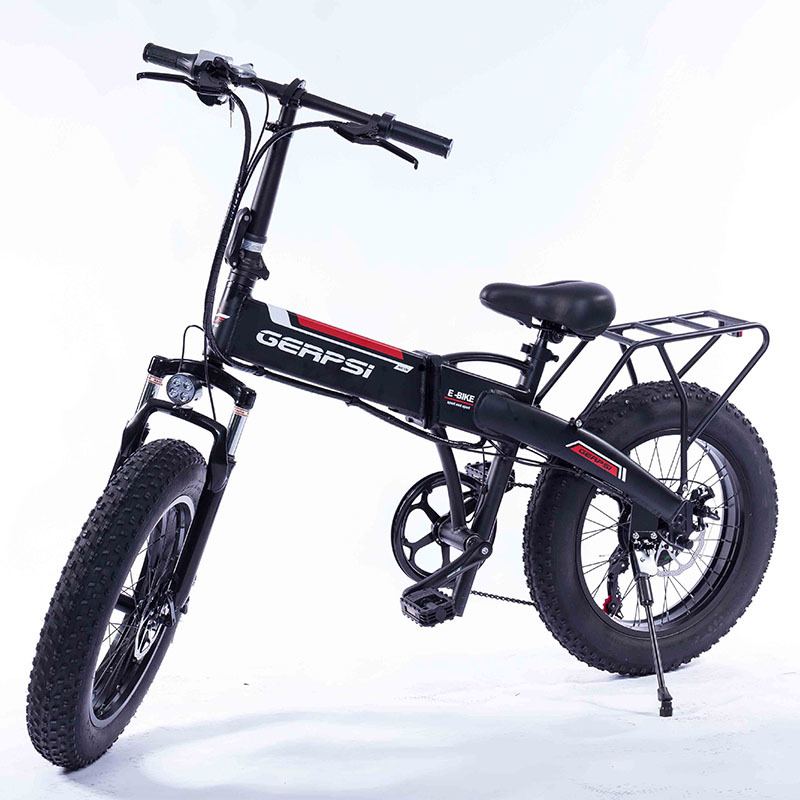 350w Gps--02002ea Inch Folding E Bike 36v 20 10ah Lithium Electric Folding Electric Bicycle Adult W bicicleta electrica 7