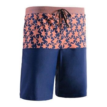 Korean-style Beach Shorts Men's Loose-Fit Quick-Dry-Sewer MEN'S Swimming Trunks Shorts Men's Popular Brand Seaside Holiday Beach
