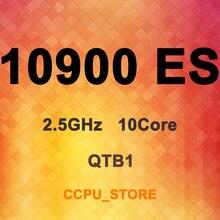 Core I9 10900 ES QTB1 2.5GHz 10Core 20 20MB 65W LGA1200 CPU Processor