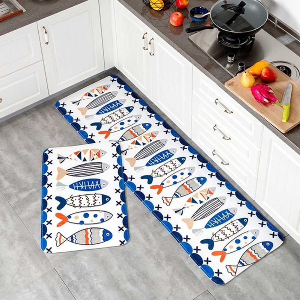 Gatos dos desenhos animados imprimir tapete do banheiro cozinha tapete do assoalho capacho anti deslizamento tapetes tapete da porta para sala de estar decoração casa