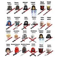 NEW Sith Jedie Order Knights SW634 SW540 SW1061 SW576 SW452 SW435 SW570 figures building blocks set Kids toys 1
