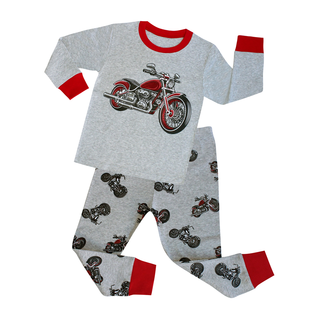 Boys' Raglan-Sleeve Cotton Nightwear