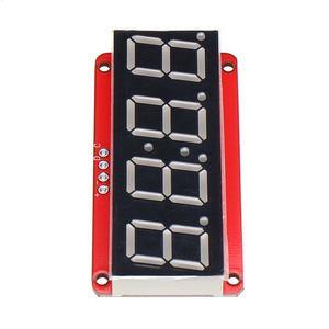 Image 3 - LEORY 3/5/10 pièces 4 bits 0.56 pouces 7 segments LED Module de Tube numérique I2C contrôle 2 lignes HT16K33 Module daffichage de LED