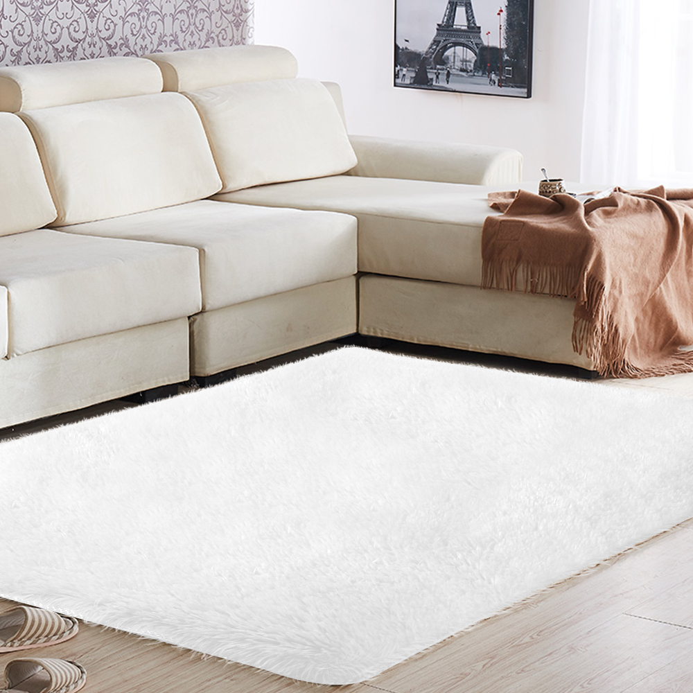 Carpet Floor Fluffy Rugs Area Rug Anti-Skid Warm Shaggy 160x230cm Polyester Fiber Multicolored Home Mat Decoration Bedroom