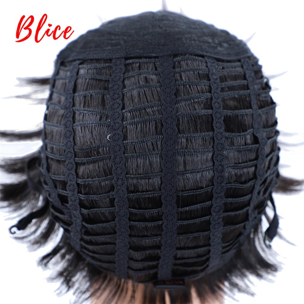 festa de halloween perucas femininas americano africano bang