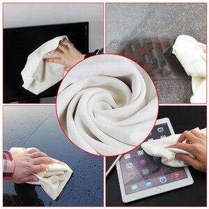 Image 3 - 70*100CM naturalne zamszowe zamszowe ręczniki do czyszczenia samochodu suszenie ściereczki do mycia
