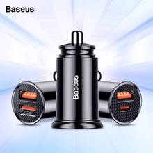 Baseus Quick Charge 4.0 3.0 USB Car Charger For iPhone Huawei Supercharge SCP QC4.0 QC3.0 QC Fast PD C Charging