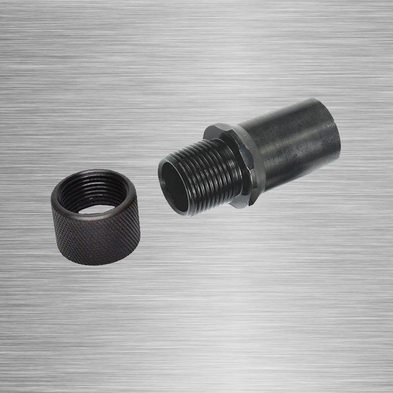 Adaptador rosqueado m9x. 75 a 1/2