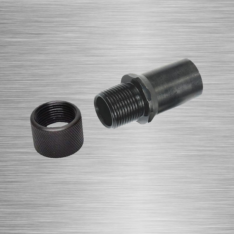 Barrel End Threaded Adapter M9x.75 To 1/2