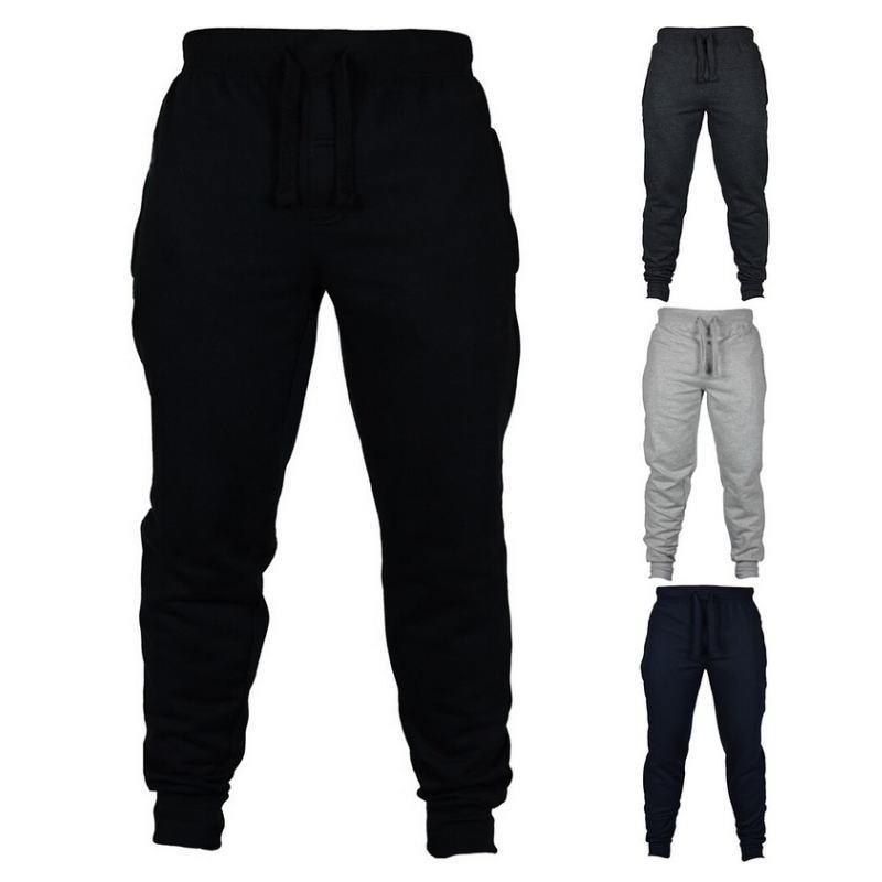 2020 Autumn New Men's Casual Sweatpants Solid High Street Trousers Men Joggers Oversize Brand High Quality Men's Pants