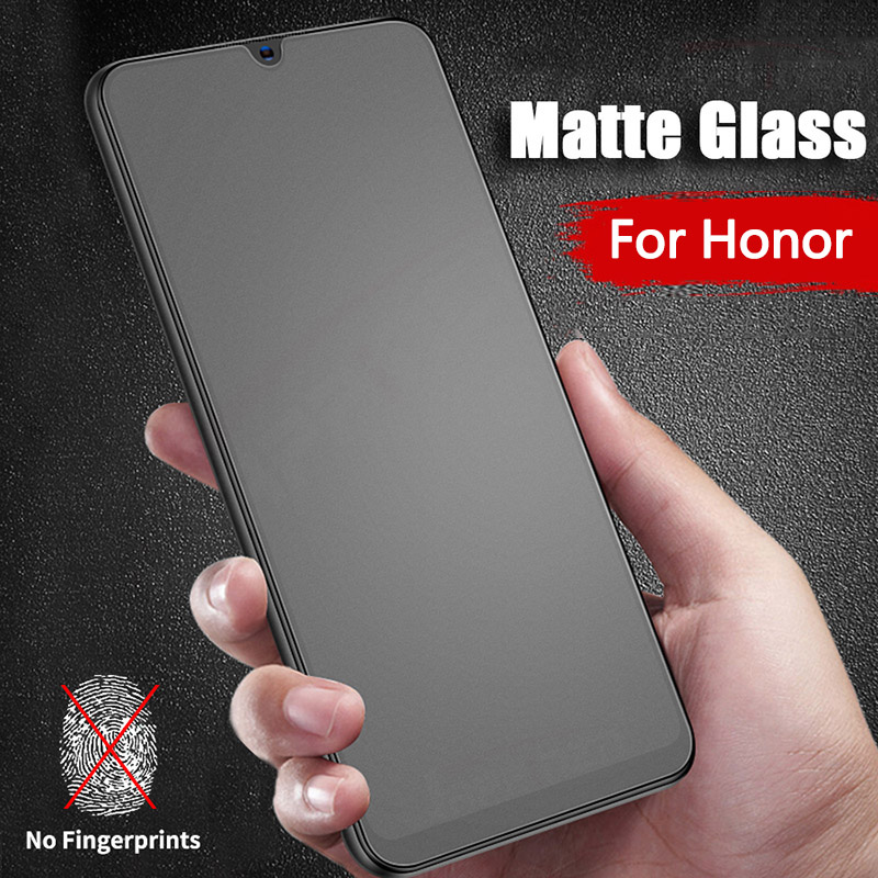 Matte Frosted Protective Tempered Glass For Huawei Honor 8X 8C 8S 8A Screen Protector Honor Hono 8 X C S A X8 C8 S8 A8 Film Glas