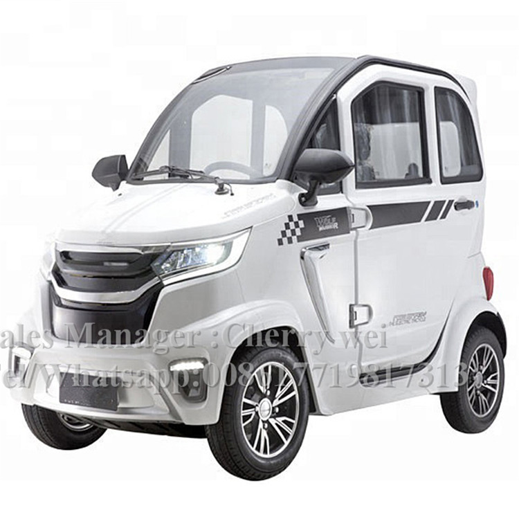 2020New Arrival 4000W Brushless Motor Made In China Cheapest Electric Car/Scooter Mini Cart