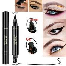 Eyeliner Trendy Winged  Waterproof Makeup Eye Liner Pencil Black Liquid Hot shimmer and shine