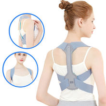 Brace Support Belt Adjustable Back Posture Corrector Clavicle Spine Back Shoulder Lumbar Posture Correction Pain Back Medical(China)