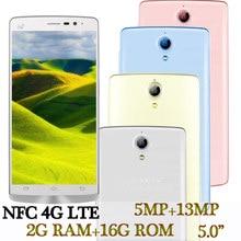 P40 4G LTE Version mondiale Smartphones NFC 2G RAM + 16G ROM 5.0 pouces écran Quad Core 13MP HD Android téléphone portable pas cher Celuares