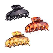 9cm Hair claws Hairpins Trendy Hair Clip For Women Girl Accessories Hair Turtle/black ACC25