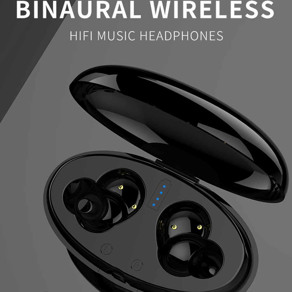 WA02 Business Drahtlose Bluetooth 5,0 Kopfhörer 3D Mini Earbuds Mit Mic Lade Box Hifi Kopfhörer Stereo Sport Stereo Headse