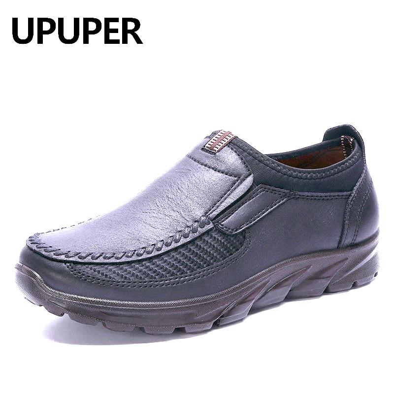 UPUPER Outdoor Sneakers Men Running Shoes Lightweight Breathable Men Handmade Trainers Sport Shoes Zapatos Hombre Big Szie 48