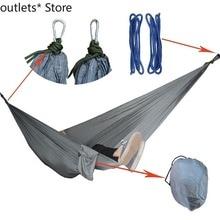 Outdoor Hammock Swing Camping Portable Double Hammock Idyllic Indoor Swing Custom Hammock
