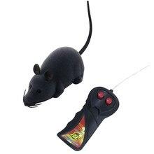 Радиоуправляемые животные забавные беспроводные электронные пульт дистанционного управления мышь крыса игрушка для домашних животных для кошек инфракрасные радиоуправляемые игрушки для детей подарок