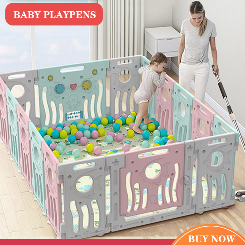Baby Playpens Fencing For Children Kids Activity Gear Environmental Protection Barrier Game Safety Fence Children Playground