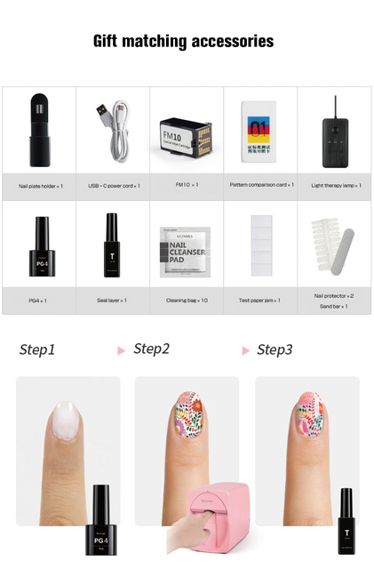 Photo design for nails 5