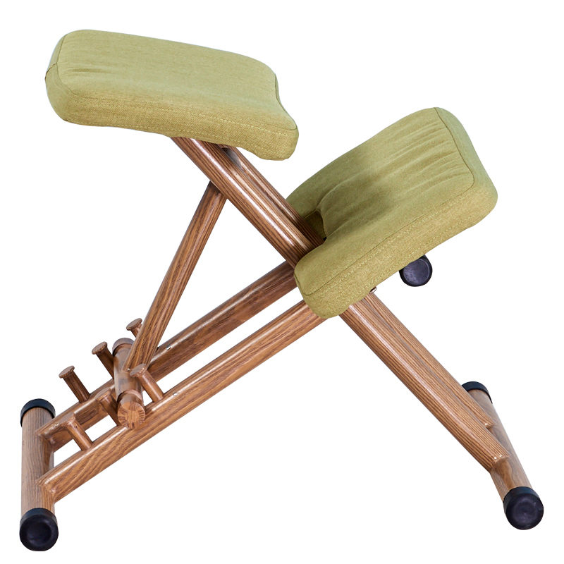 Ergonomical Designed Kneeling Chair Stool Handle Height Adjust Office Knee Chair Ergonomic Correct Posture Chair
