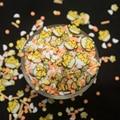 Пасха Милые Курица Форма полимерные глиняные ломтики поддельные и других десертов с посыпка для шлама заполнения DIY украшения на хэлоуин, п...