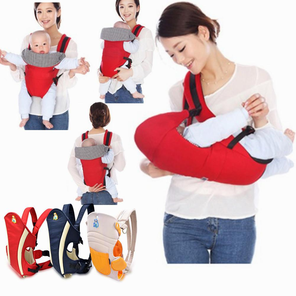 Kidlove 4 In 1 Adjustable Cotton Cartoon Baby Backpack Multifunctional Carriers For Carrying Baby
