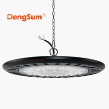 Lámpara para minería de luz LED para techo alto UFO, 100W, 150W, 200W, 110 W, AC220V, V, superbrillante, para almacenes, mercado, taller, estadio, garaje