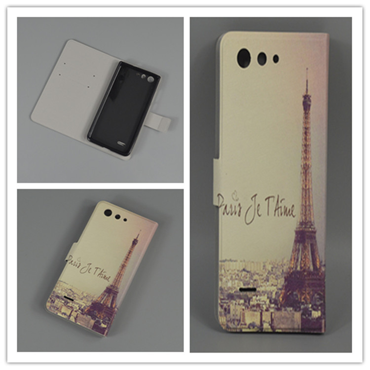 Ultra thin butterfly Flower Flag vintage Flip Cover For ZTE Blade A511 A515 A 511 A 515 Cellphone Case image