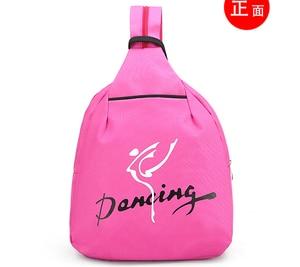 Image 4 - Child Kids Pink ballet bag Backpack Waterproof canvas Ballet Dance Bags Pink Ballerina Ballet Gift