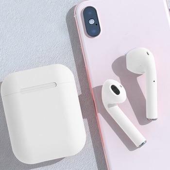 Безжични Bluetooth слушалки с двойна дръжка мини-ухо щепсел спортен универсален телефон