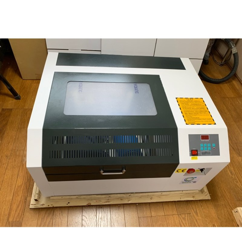 400*400mm mini deaktop 50w laser engraving machine wood cut acrylic plywood paper in stock corellaser coreldraw|Wood Routers| |  - title=