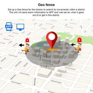 Image 5 - Mini GPS Tracker ส่วนบุคคล Tracker กันน้ำ IP68 LK109 ยาวสแตนด์บาย Real time เด็ก GSM ฟรี Web APP ติดตาม TK1000