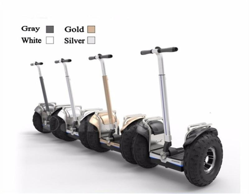 New Off Road Electric Scooter Personal Golf Carts 19 Inch Self Balancing Hoverboard 2400W Electric Golf Scooter With GPSAPP (21)