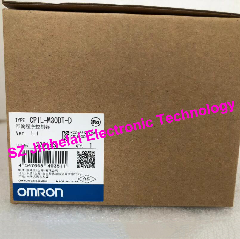 New and original CP1L-M30DT-D OMRON Programmable controller