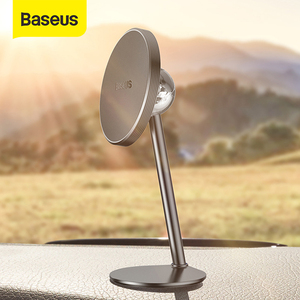 Image 1 - Baseus Magnetic Car Holder For iPhone X 7 Xs Max Xiaomi HUAWEI Car Holder Phone Stand Mount Magnet Auto Mobile Support