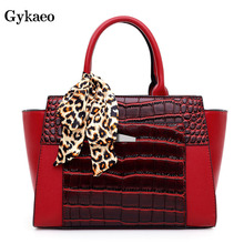Gykaeo Luxury Handbags Women Bags Designer Fashion Tote Bag Ladies Soft Leather Large Capacity Shoulder Bags for Women Handbag la maxza gifts for valentine s day leather fashion women handbags split leather shoulder bag large designer ladies shoulder bags