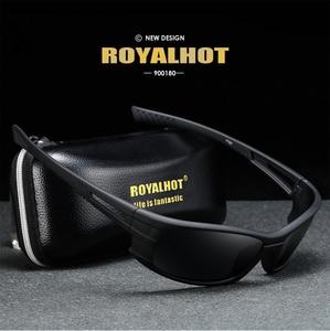 Image 5 - Royalhot men feminino polarizado acolhedor esportes óculos de sol vintage retro óculos de sol máscaras oculos masculino 900180